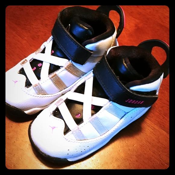 best service 8d6a0 c2d89 Toddler girl Nike Air Jordan 6 Rings sneakers